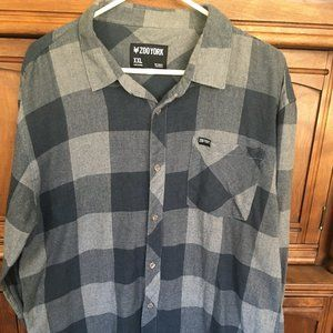 Men's Zoo York Flannel Shirt